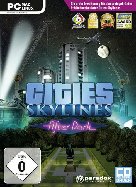 Cities Skylines - After Dark na PC