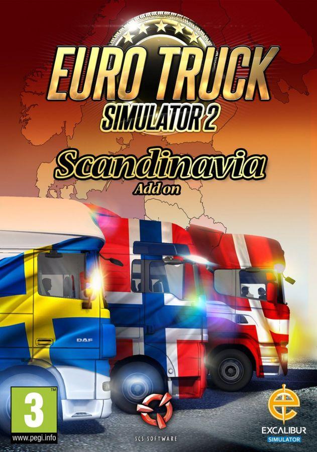 Euro Truck Simulator 2 Scandinavia  na PC