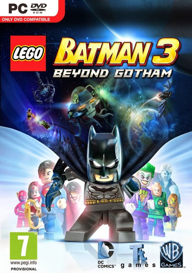 LEGO Batman 3 na PC
